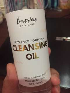 Luxcrime cleansing oil