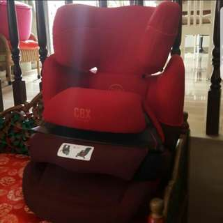 Cybex Aura Fix Car Safety Seat Rumba Red