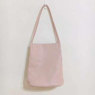 二手💫 粉色肩背包