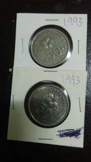 Old Coins 1993