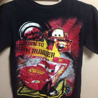 Lightning McQueen design tshirt brand new