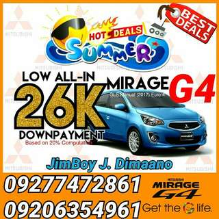 Mitsubishi Mirage G4 LOW DOWN Promo SURE Approval NO Minimum Requirements DIAL NOW! 09277472861 or 09206354961