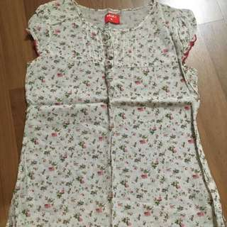 Clearance - Miki Flowery Blouse