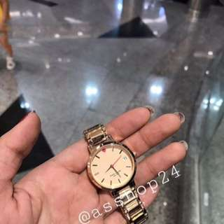 (JOGJA) kate spade gramercy watch look a like in gold