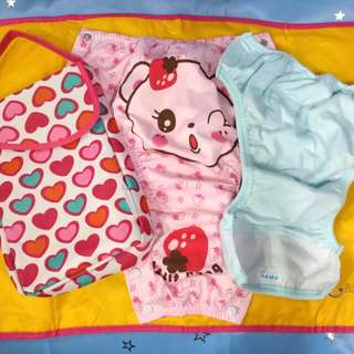 Baby Snap Cloth Diaper-hold