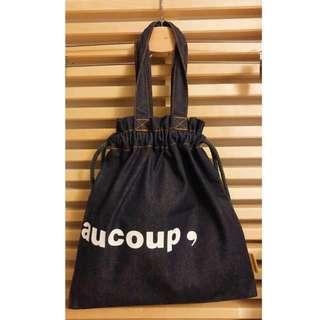 Mercibeaucoup Denim Hand-carry Bag
