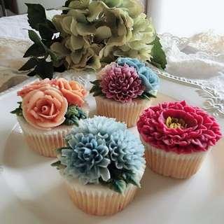 手工杯子蛋糕(可食用)