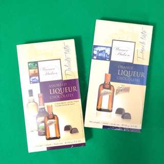 Orange liqueur  Cointreau chocolates/assorted liqueur teacher's scotch whisky Cointreau chocolates 60 for both