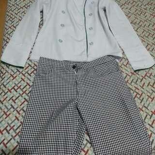 Chef's uniform cosplay