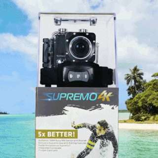 Supremo 4k Action Cam