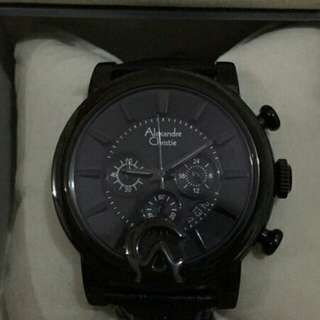 Jam tangan alexandre cristie ori