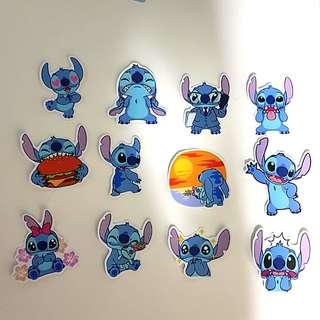 Lilo and Stitch Laptop Luggage Stickesrs