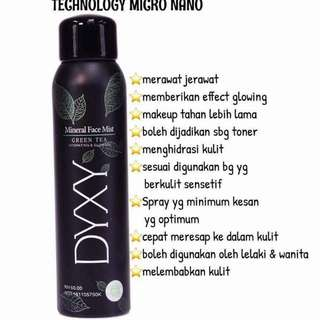 DYXY MINERAL FACE MIST NEW LOOK
