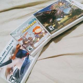 3ds games for sale Us ver.