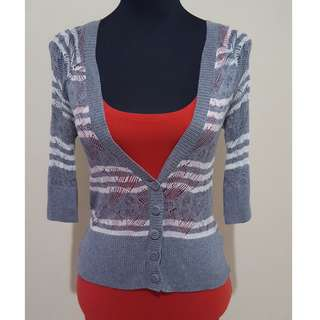 ✔REPRICED✔ Gray Knitted Sweater