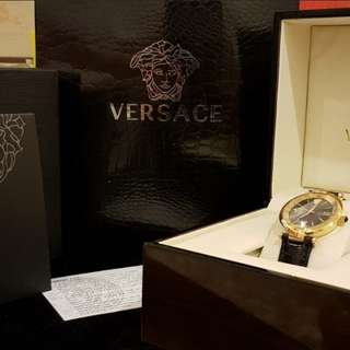 Versace Female Leather Watch