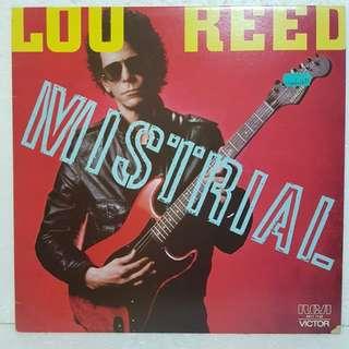 Loo Reed -  Mistrial Vinyl Record