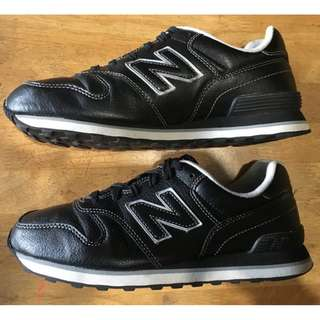 Original New Balance 364 black leather Size 7.5 US Mens