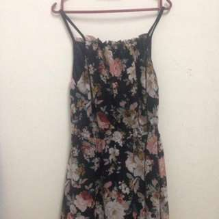 #bajet20 floral maxi dress