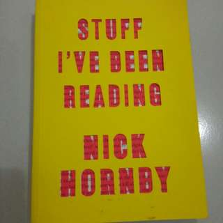Stuff i've been reading by nick hornby