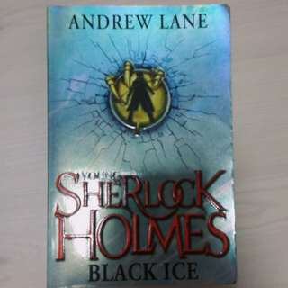 young sherlock holmes; black ice | andrew lane