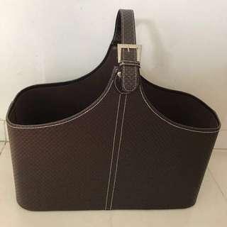 BN Picnic basket leather