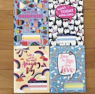 Cute Paper Stone Notebooks (Min. 2 Books)