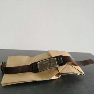 Leather bracelet from Abercrombie & Fitch