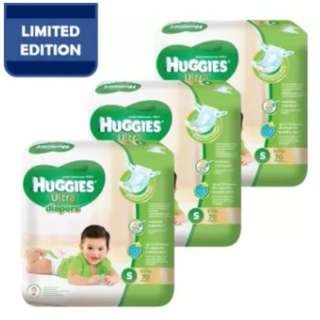 Huggies Ultra Diapers S70 Super Jumbo (3 Pack)
