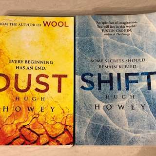Hugh Howey (1) DUST (2) SHIFT