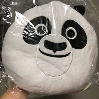 BNIB KouKou the Panda Plush Cushion