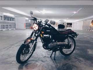 Yamaha RXK 135 Cafe Racer COE 10/2022