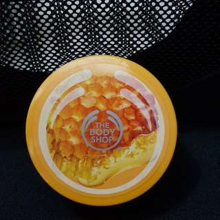 The body shop cream body scrub