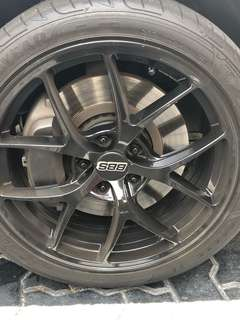 Lexus GS300 brake