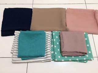 [TAKE IT ALL] Pashmina dan Square hijab