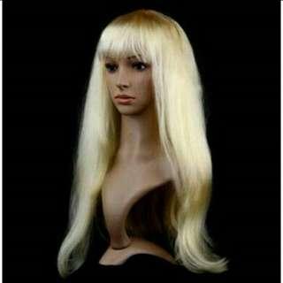 #歐美金髪 #白金色 #假髪 #僅一次活動使用