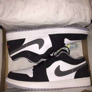 Air Jordan 1 Low Wolf Grey
