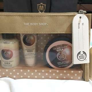 BODYSHOP - Travel sized gift pack
