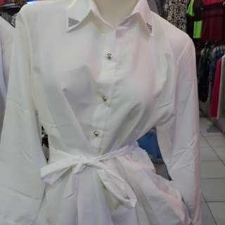kemeja putih wanita new
