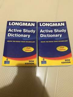 Longman active study English Dictionary Full colour