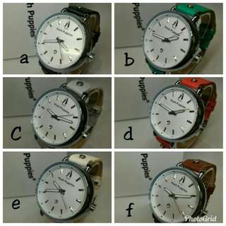 JAM TANGAN HUSH PUPPIES BATANG RING SILVER