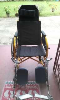 Heavy Duty Recliner Wheelchair