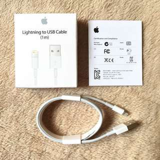 ❤️[SALE] apple iphone connector/charger/cable