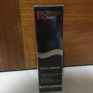 Brand new & sealed Biotherm Homme Force Supreme Gel Reactivating Anti Aging care