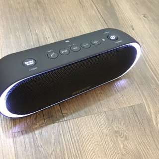 Sony XB20 Portable Wireless Speaker with Bluetooth, Blue (2017 model) --- With LED