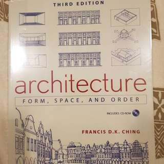 Architecture Form, Space, and Order