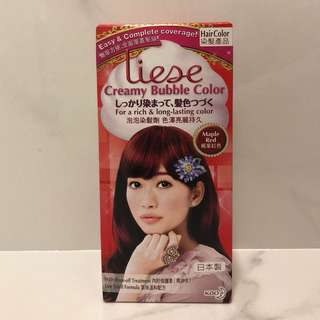 Liese Creamy Bubble Colour - Maple Red