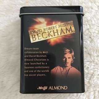 David Beckham x Meiji Tin Case