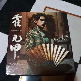 WTS: JAY CHOU HUO YUAN JIA CD+DVD