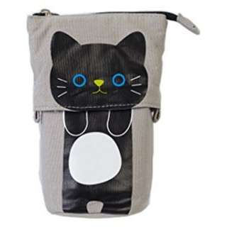 ~ NEW ~  Cartoon Cat Telescopic Pencil Pouch Bag